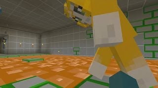 Download Minecraft Xbox - Legend Of The Holy Grail - Lava Parkour [3] Video
