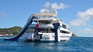 Download FunAir - superyacht toys including our yacht slide, climbing wall and Floating Island Video