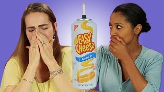 Download French People Try American Cheese Video