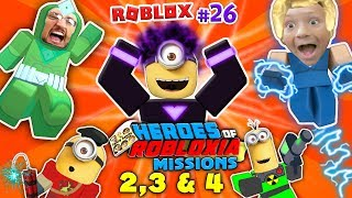 Download DABBING MINION & ROBLOX Heroes of Robloxia MISSIONS 2, 3 & 4! FGTEEV #28: 2-Vids-in-1 (DARK MATTER) Video
