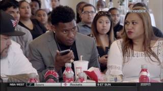 Download JuJu Smith-Schuster Sweats Out Draft Day Video