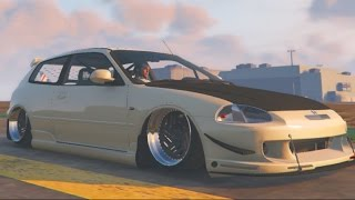 Download GTA 5 PC MODS - JDM Slammed Civic + Fast and Furious Cargo Jet!! Video