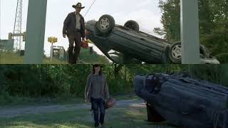 Download The Walking Dead: Rick and Carl 1x01 vs. 8x01 Video