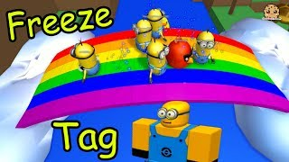 Download Minion Freeze Tag & Hide and Seek Extreme - Let's Play Roblox Online Games Video