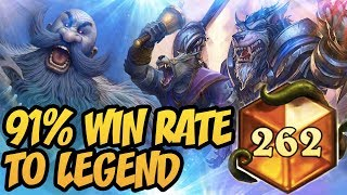 Download Hearthstone: 91% Win Rate With Wild Patron Warrior Video