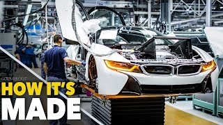 Download CAR FACTORY ... New BMW i8 HOW IT'S MADE | HOW TO BUILD a Supercar Video