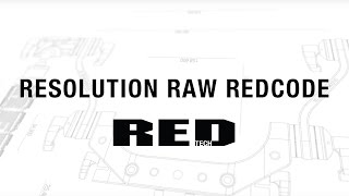 Download RESOLUTION RAW REDCODE | RED TECH Video