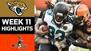 Download Jaguars vs. Browns | NFL Week 11 Game Highlights Video