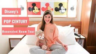 Download Disney's Pop Century Resort RENOVATED Refurbished Room Tour and Gondola Skyway Updates Video