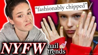 Download Fashion Week 2019 Nail Trends: Review & recreation (click for style icon) Video