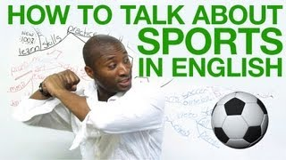Download How to talk about sports in English Video