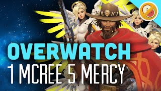 Download 1 MCCREE 5 MERCY - Overwatch (Gameplay Funny Moments) Video