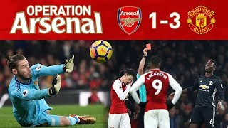 Download ARSENAL 1-3 MANCHESTER UTD - A TRULY MAD GAME! Video