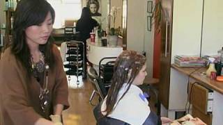 Download Japanese Hair Straightening/Thermal Reconditioning in The Annex, Toronto Video
