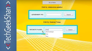 Download Free Student Management System in PHP-MySql Application Video