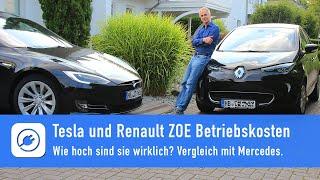 Download Elektroauto Betriebskosten - wie hoch sind sie wirklich? Tesla und ZOE gegen Mercedes Video