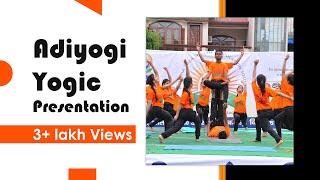 Download Aadiyogi presentation by Moksha Yoga Center on 3rd International day of yoga 2017 Video