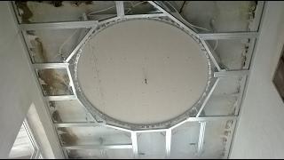 Download Как сделать потолок из гипсокартона . Video