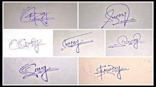 Download !! Cool Signature Dude. !! Signature of alphabet S Video