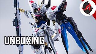 Download Metal Build Strike Freedom Gundam Model Kit Unboxing & Overview Video