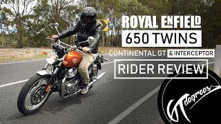 Download Royal Enfield Interceptor & GT 650 Twins review Video