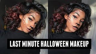 Download EASY Last Minute DEER MAKEUP for Halloween | 2016 Video