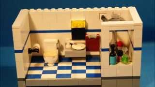 Download Tutorial - LEGO Bathroom [MOC] Video