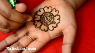 Download Simple Arabic Mehndi Design For Hands * Latest New Mehndi Design *Easy Beautiful Henna Video