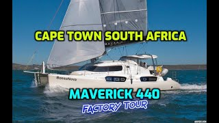 Download Cape Town South Africa. Factory Tour of Maverick 440 Catamaran. One of our favourite Catamarans. Video