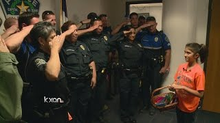 Download 10 year old brings Austin police to tears with two simple words Video