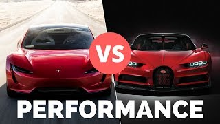 Download Tesla Roadster 2020 vs Supercars - Will it Win on ALL Performance Metrics? Video