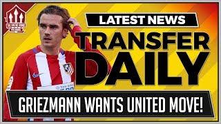 Download GRIEZMANN Considers MANCHESTER UNITED Transfer | MAN UTD Transfer News Video
