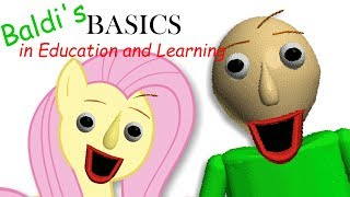Download Fluttershy plays Baldi's Basics in Education and Learning 🍉 | ONE OF US.. Video