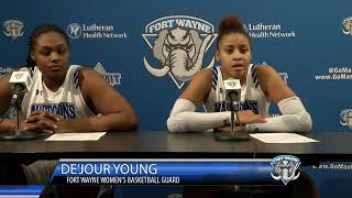 Download Fort Wayne Women's Basketball vs Loyola Chicago Postgame Interviews and Highlights Video