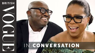 Download Edward Enninful Meets Oprah Winfrey | British Vogue Video