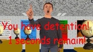 Download You have detention! No hacking in the halls! Baldi's Basics HACKED Video