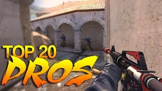 Download CS:GO - PRO Players of 2015 (Top 20) Video