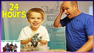 Download 24 Hours At Grandparents House - Who Will Last Longest? / That YouTub3 Family Video