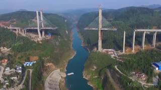 Download China is the father of the world bridge, foreign netizens have seen crazy spit Video