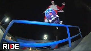 Download Santa (aka Tiago Lopes ) Skating Barcelona - Happy RIDE Holidays! Video