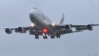 Download 40+ Planes at London Heathrow | A380s 747s 777s A330s & More Video