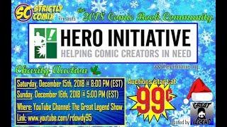 Download 2018 Comic Book Community Hero Initiative LIVE Auction Part 2 Video