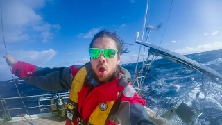 Download Sailing the Roaring 40s in 30 foot Waves! Sailing SV Delos Ep. 107 Video