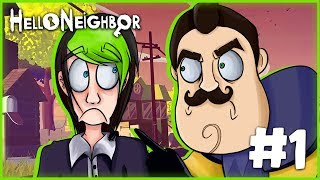 Download THIS BASEMENT GOT WEIRD! | HELLO NEIGHBOR ACT 1 | DAGames Video