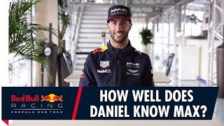 Download How Well Does Daniel Ricciardo Know Max Verstappen? Video