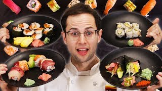Download The Try Guys Make Sushi Rolls Video