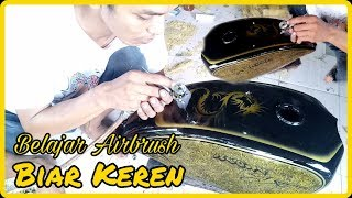 Download Airbrush Tangki Custom Japstyle Bobber Cristal FX Terkeren Video