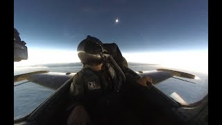 Download Totality Intercept in a Fighter Jet - 2017 Total Solar Eclipse Video