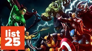 Download 25 Most Powerful Superheroes Of All Time Video