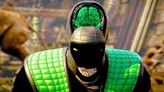 Download Mortal Kombat XL - All Fatalities & X-Rays on Shadow Reptile Costume Mod 4K Ultra HD Gameplay Mods Video